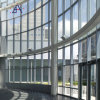 China Heat Insulation Glass Curtain Wall with Top Hung Window