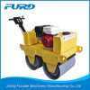 China Made Walk Behind Double Drum Soil Compaction Roller