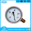 100mm Half Stainless Steel Oil Filled Pressure Gauge