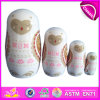 2014 New Products Matryoshka Dolls for Kids, Quality Products Matryoshka for Children, Handmade Russian Matryoshka Dolls Factory W06D035