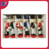 Christmas Gift Wooden Nutcracker King and Drummer S/6