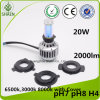 Auto LED Headlight for Motorcycle 24W 2000lm