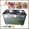 Very Good Working Performance Thai Ice Cream Machine 2 Pan