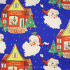 Silver Blue Christmas Gift Wrapping Paper