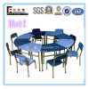8-Seater Kids Round Reading Table and Chair (SF-01K)