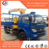 Forland 4X4 China Straight Light Crane on Cargo Truck