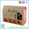 Take Away Gift Packaging Corrugated Box with Handle