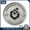 Die Casting Zinc Alloy Metal Coin in Antique Silver Plating