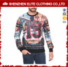 Wholesale Raglan Sleeve 3D Sublimation Custom Printed Sweatshirt Men (ELTSTJ-373)