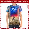 OEM Service All Over Print Short Sleeve Polyester T-Shirt (ELTMTJ-160)