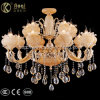 Luxury and Prefect Double Colors Crystal Chandelier Light