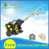Promotional Customized Fashion Soft Rubber PVC Keyring for Advertising Gifts