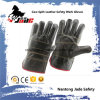 Dark Furniture Cowhide Leather Industrial Safety Work Glove