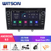 Witson Quad-Core Android 9.0 Car DVD GPS for Peugeot 408 2010-2011 2g DDR3 RAM Memory