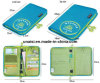 Nylon Boarding Pass Ticket Holder Travelling Long Passport Wallet