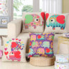 Hot Sale Printed Cushion Cover Without Stuffing Decorative Throw Pillow Case