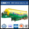 Cimc 3 Axle 50ton Bulk Cement Tanker for Algeria