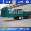 Bulk Goods Transport Truck Cargo Fence Semi Trailer for Sale