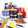 Custom Waterproof Adhesive Printing Label Sticker with Tube Packaging Roll