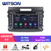 Witson Quad-Core Android 9.0 Car DVD GPS for Honda New Cr-V 2012 Built-in DAB+ Function