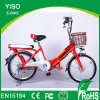 Classical Robstep 48V Lithium Battery Land Rover Volta Electric Bicycle for Lady