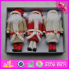 2017 New Products Christmas Lovely Wooden Dolls for Little Girls W02A244