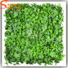 Artificial Plastic Green Wall Five Angle Leaves Grass Wall