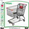 American Style Supermarket Shopping Trolley with Good Wheels