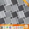 European New Design Wall Decoration Grey Color Glass Mosaic (M855162)
