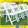 Resin Foldable Wedding Chair with Padded