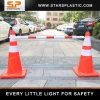 ABS 2.2 Meters Expandable Traffic Cone Bar Barrier for Road Barricade