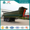 3 Axle 8m U Shape Hopper Dump Semi Trailer