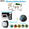 Guest Pager Call Bell Systems for Coffee House Waiter Service for Customer