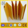 PVC Folding Door High Glossy Waterproof Fireproof 0.6mm Thickness