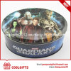 Wholesale Oval Shaped Gift Food Tin Box with Customized Print