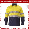Wholesale Custom Mens Safety Work Shirts (ELTHVSI-2)