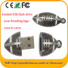 Metal Rugby USB Flash Drive Football Memory Stick for Promotion