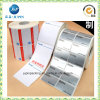 Customized Design Silver Foil Sticker Paper Label Embossed Sticker (JP-S114)