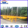 China Manufacturer 3-Axle Skeleton Container Semi Trailers for Sale