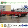Multi-Functional Flatbed 30-60 Tons Side Wall Truck Trailer with Mechanical Suspension