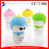 White Bone China Custom Ceramic Mug with Custom Silicone Lid