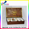 2016 Shiny Gold Empty Wholesale Custom Paper Cosmetic Container