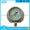100mm Bottom Type All Stainless Steel with Back Flange Manometer
