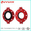 FM/UL Listed Ductile Iron Grooved Flange Clamp for Tube Fire Fighting System