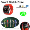 "Smart Watch Phone with 1.22"" Touch Screen (W8)"