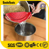 New Design Hot Selling Clip-on Silicone Kitchen Food Strainer