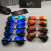 Luxury Designer Brand Rb Wholesale Replica Fashion High Quality Classi Fascinating for Both Men and Women Ray#Ban Glow Spin Art Sunglasses