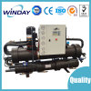 Twin Compressors Screw Gshp for Cooling and Heating Chiller