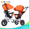 New Baby Tricycle Mother and Baby Carrier Children Two Seat Kids Tricycle