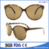 Big Cat Eyes Leopard Print Frame Sunglasses with Brown Lens